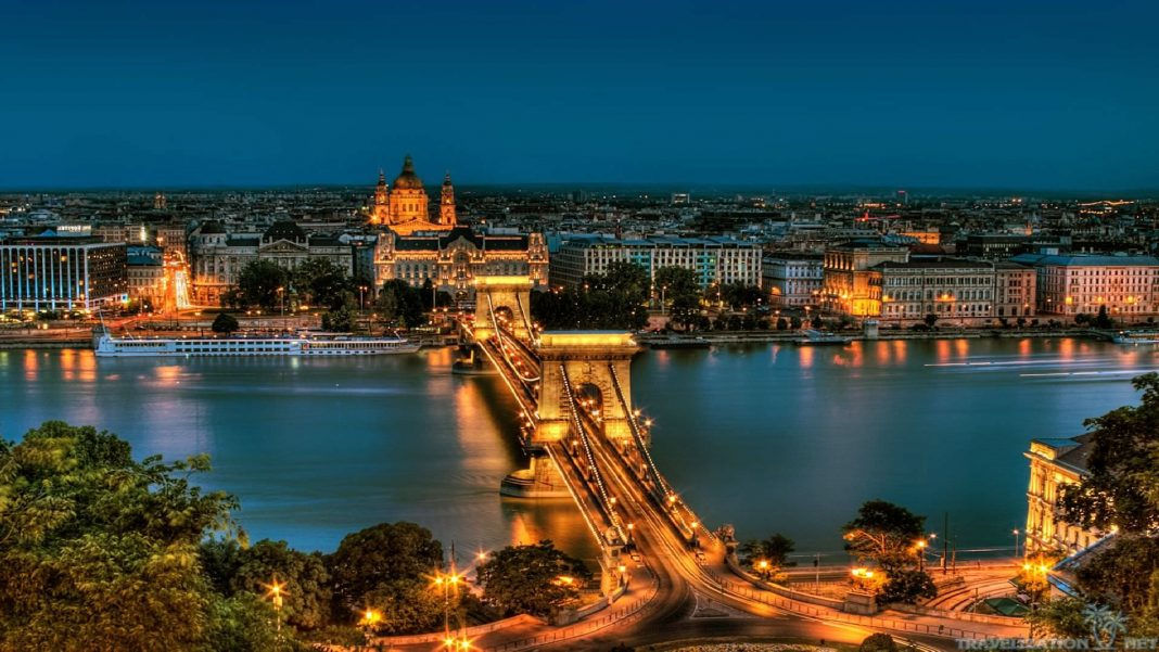 Night over the Capital of Hungary, Budapest