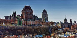 A view of Quebec city