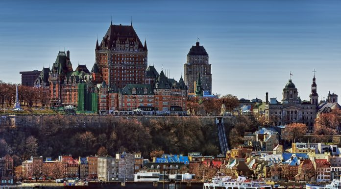 A view of Quebec city