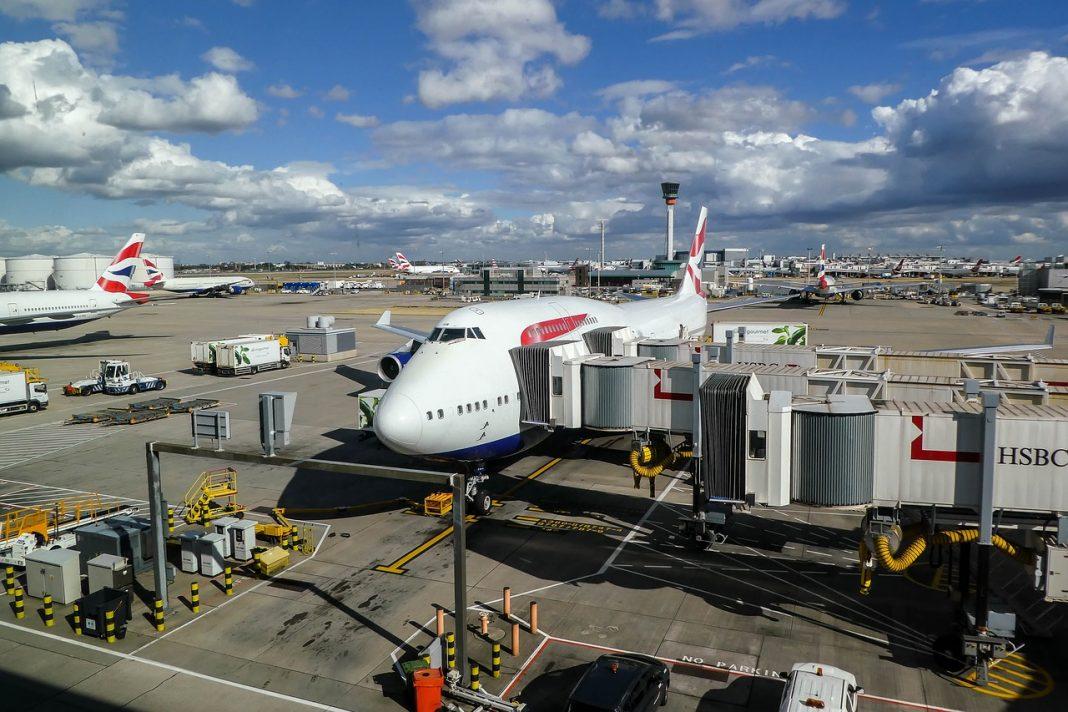 British Airways airplane