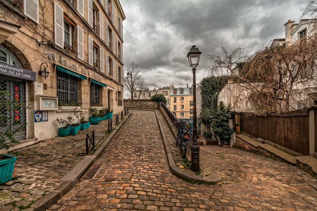 Montmartre in Paris