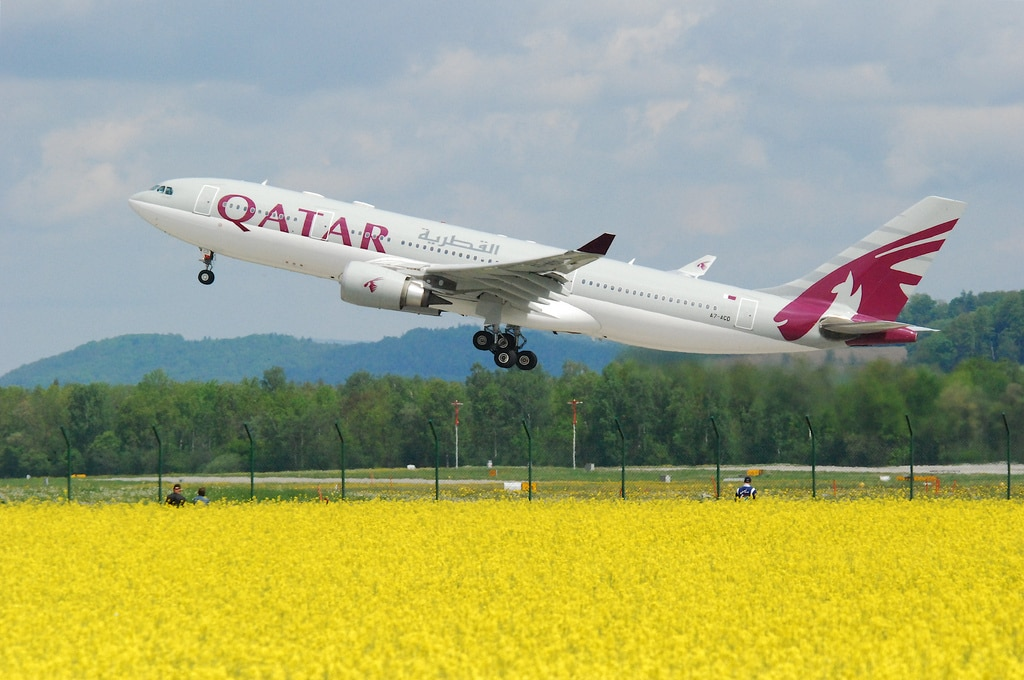 qatar airline has the fifth best economy class