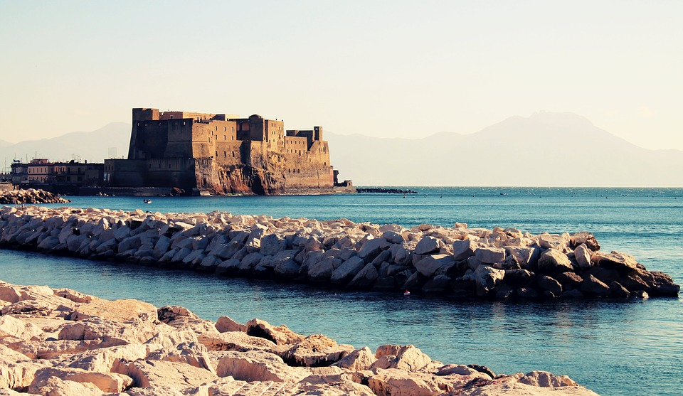 Castle by the Sea in Naples