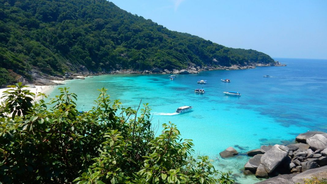 Similan Islands in Andaman Sea
