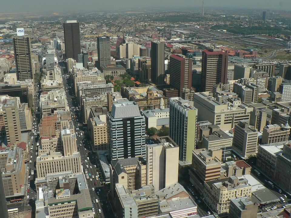 Johannesburg as seen from Above