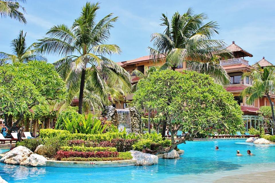 A Resort on Nusa Dua Island, Bali