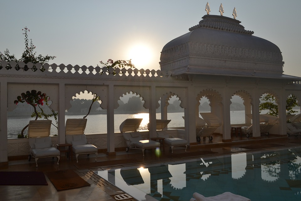 Taj Lake Palace Hotel in Udaipur, Rajasthan