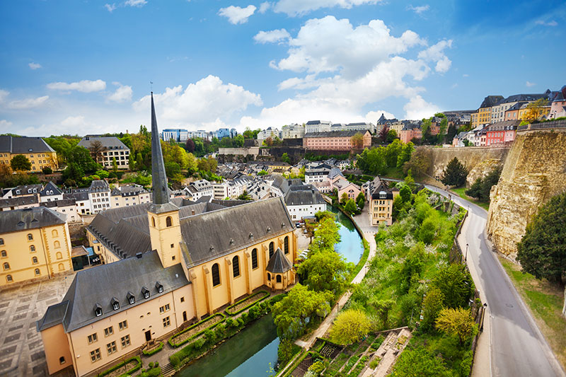 Luxembourg is a perfect mix of the modern and archaic