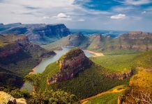 The majestic Blyde River Canyon
