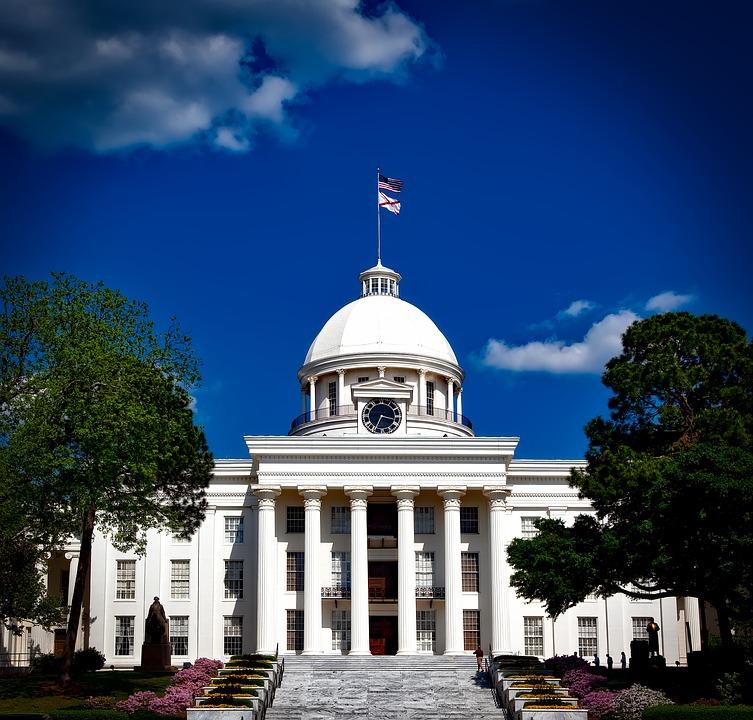 Capitol in Alabama, Destination of Selma Protesters