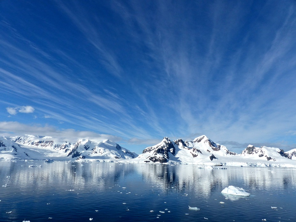 Paradise Bay and Ice at the South Pole
