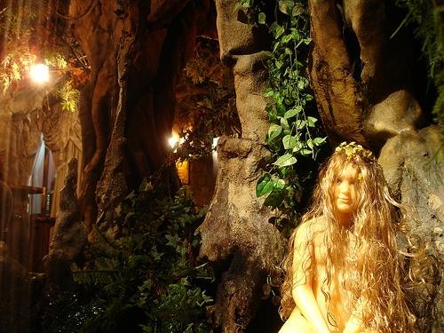 A Fairy in El Bosc de les Fades Cafe