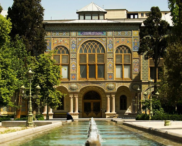 A Luxurious Palace and a Pool in Golestan