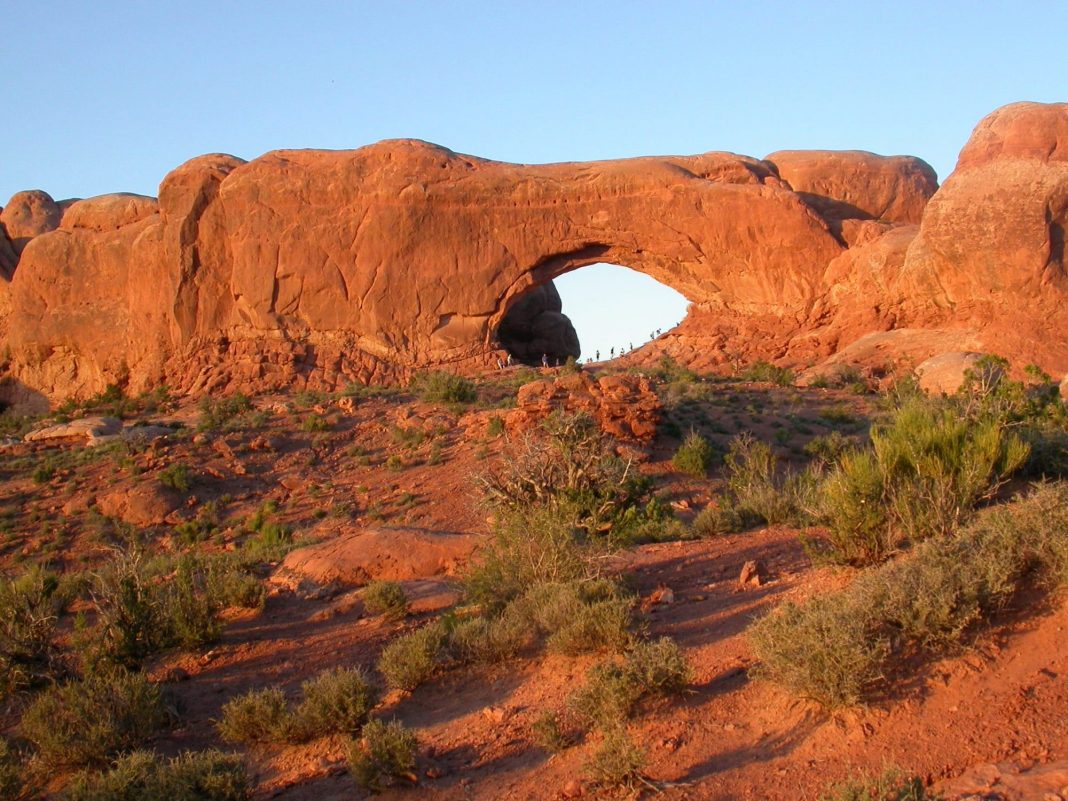 The Famous Moab Arches National Park