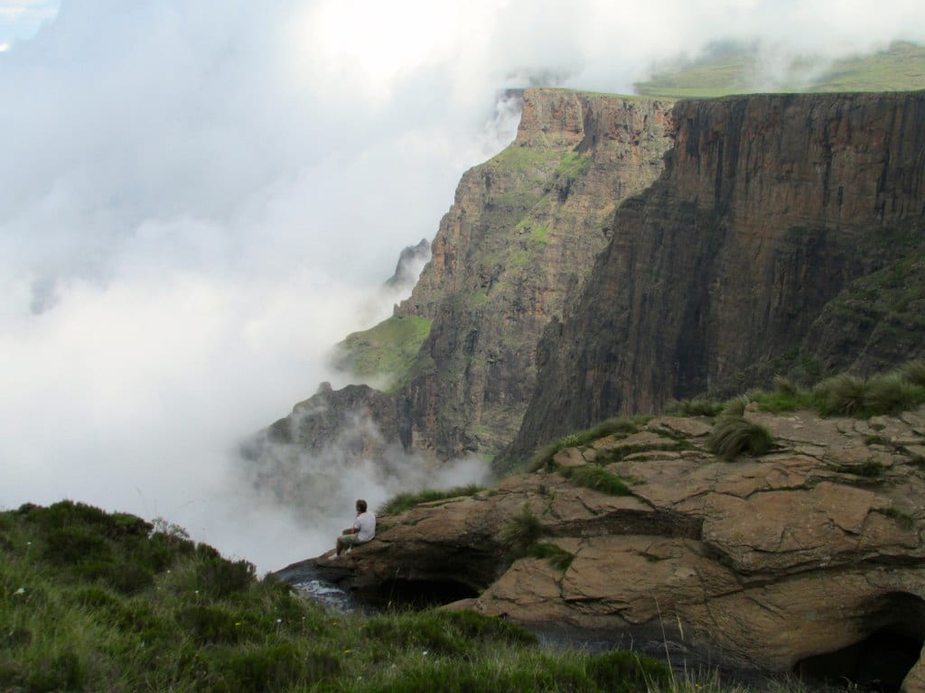 Amazing Tugela Falls in South Africa