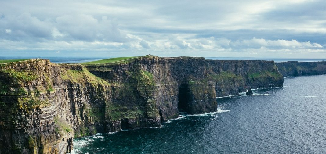 Cliffs of Moher in Ireland look stunning all year round