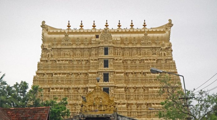 Padmanabhaswamy Temple and its Gate