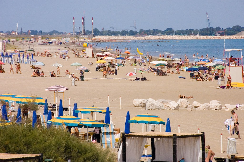 Lido di Venice is one of the most popular summer destinations for tourists