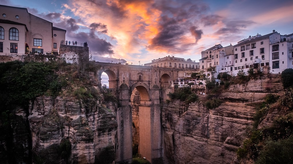 Ronda town and its magnificent gorge