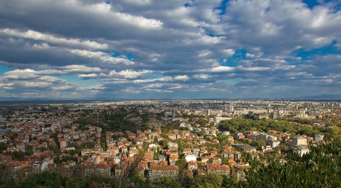 Magnificent view of Plovdiv