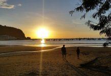 A beach in Nicaragua