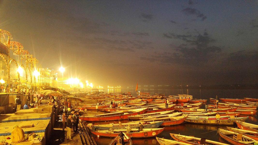 Nighttime in Varanasi