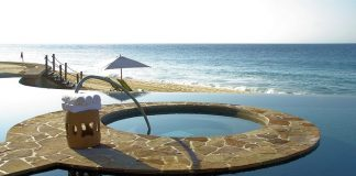 A luxurious resort in Cabo San Lucas, Mexico
