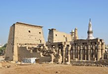 Ancient Temple Complex in Luxor